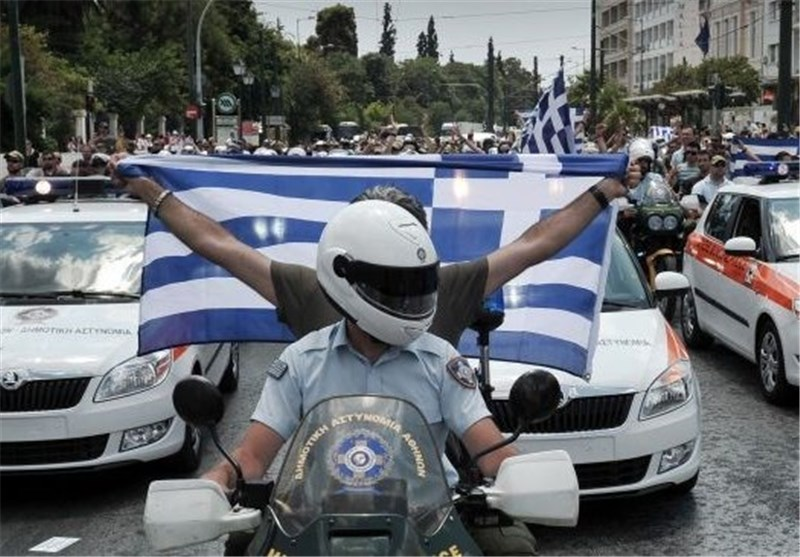 اعتراض مردم یونان نسبت به اجرای برنامه های جدید ریاضتی
