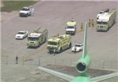 Passenger Jet Collides with Truck at Los Angeles Airport, Injuring Eight