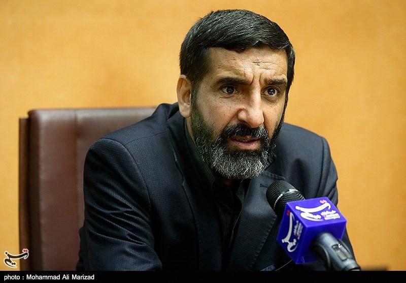 حضورسردار حاج حسین یکتا فرمانده قرارگاه خاتم الاوصیا در خبرگزاری تسنیم