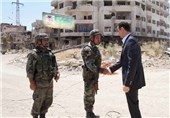 Syrian President Visits Troops to Mark Army Day