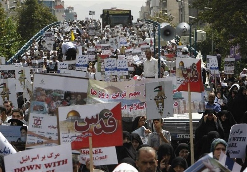 Iranians Stage Massive Rallies to Mark Int'l Quds Day