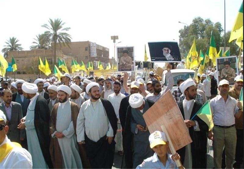 مسیرات حاشدة فی بغداد وعدد من محافظات العراق لاحیاء یوم القدس العالمی