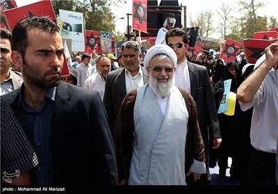 Senior Iranian Officials Attend Rallies on Int'l Quds Day