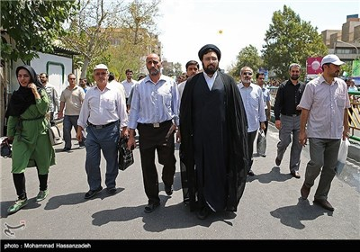 Senior IranianOofficials Attend Rallies on Int'l Quds Day