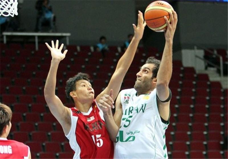Iran Wins Second Victory in FIBA Asia Championship
