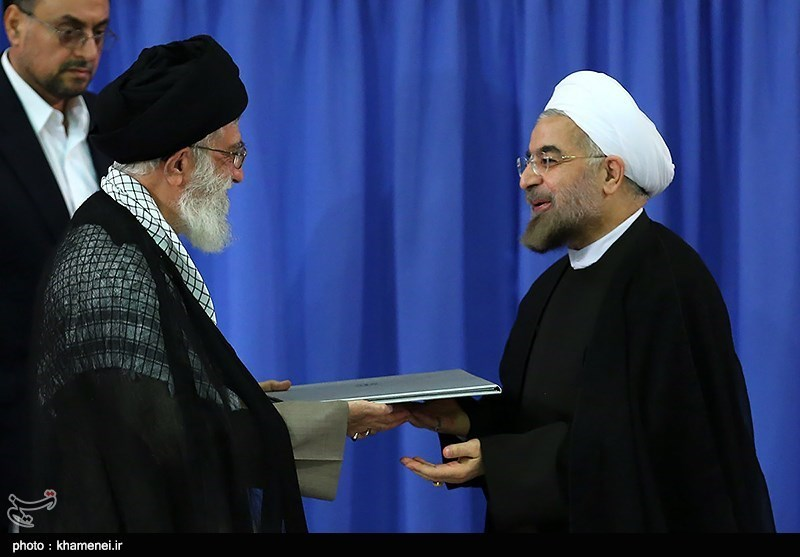 مراسم تنفیذ حکم ریاست جمهوری حجت الاسلام حسن روحانی