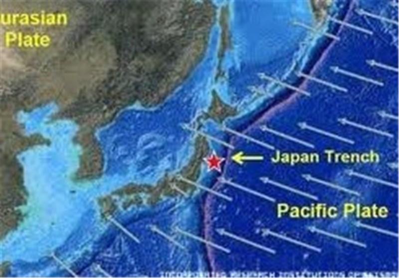 ژاپن زلزله