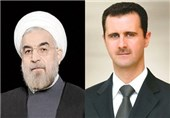 Syria's Assad Congratulates Iran's President on Second Term Win