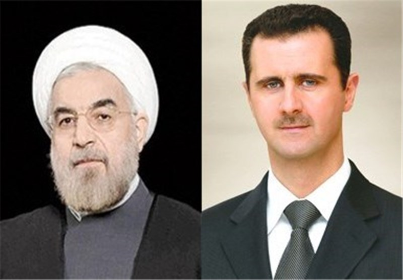 Syrian President Sends Message to Rouhani on Boosting Strategic Relations