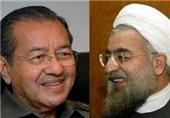 President Rouhani meets Mahathir Mohamad