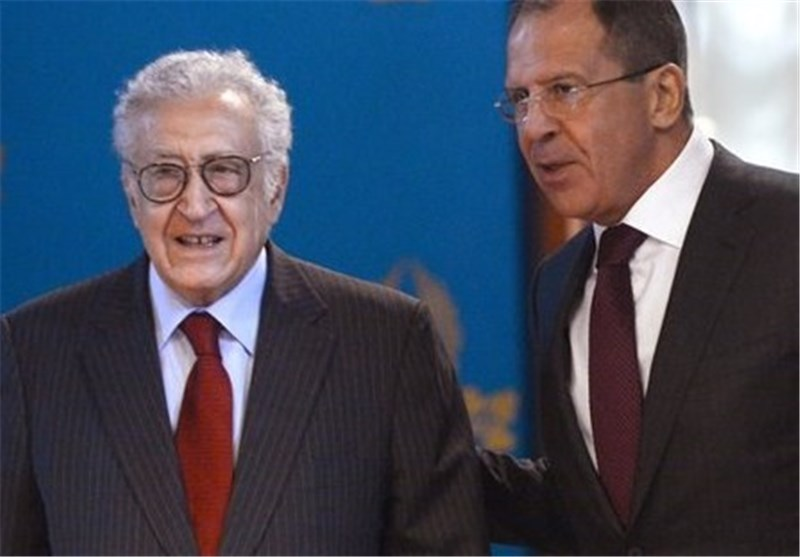 Lavrov, Brahimi Discuss Syria Crisis