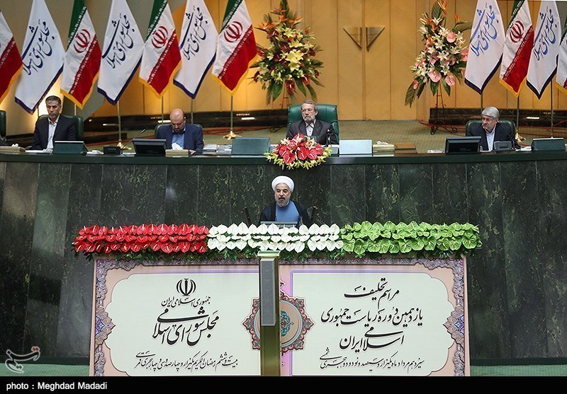 Photos: Iran's New President Takes Oath of Office