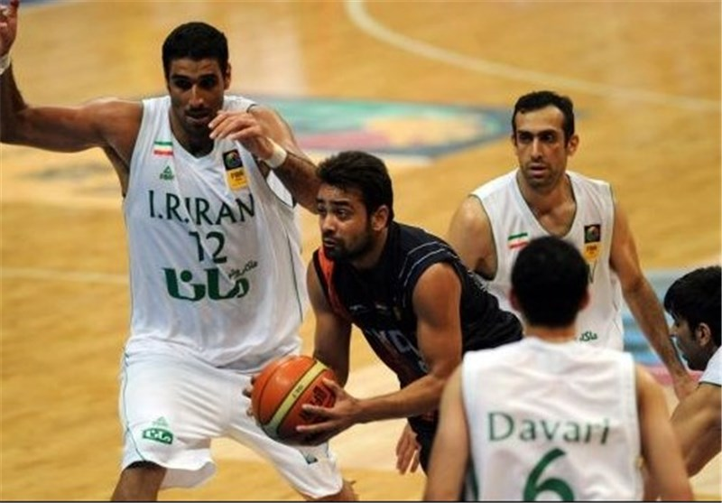 Iran Beats India in FIBA Game