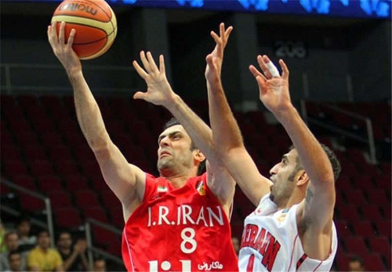 Iranian Basketballers Beat Bahrain after Crushing India