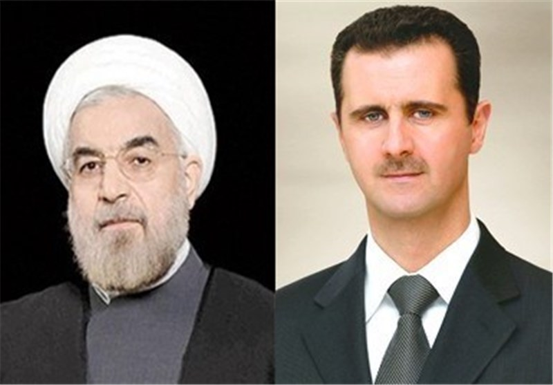 President: Iran, Syria on Same Side in War on Terrorism