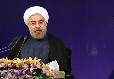 روحانی: سال 96 در احداث راه آهن رکورد زدیم/ واردات افزایش یافت
