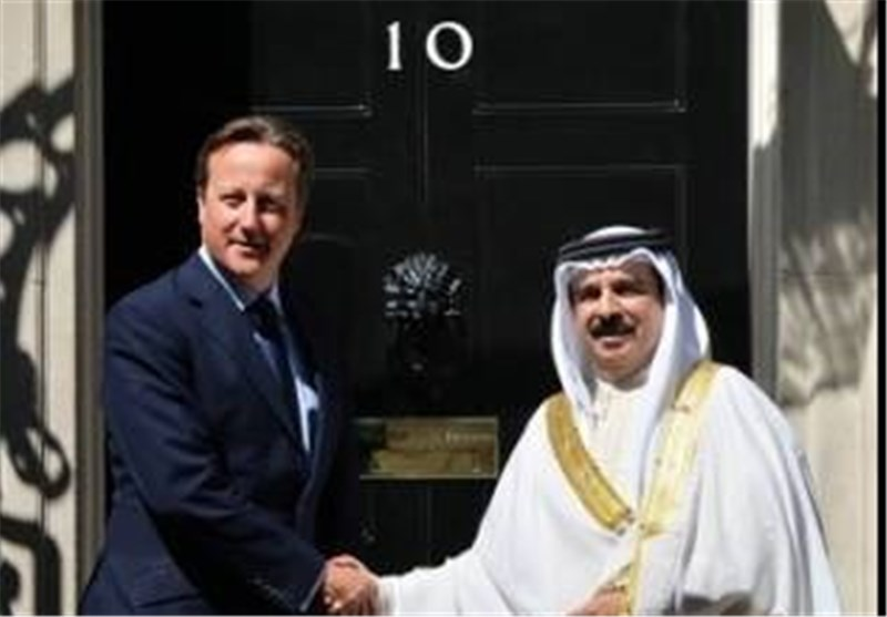 David Cameron Entertains Bahrain's Dictator