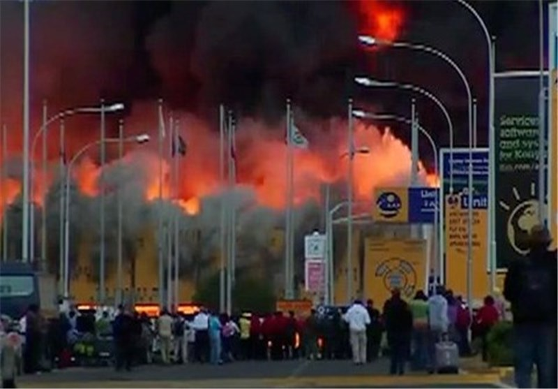 Huge Fire Shuts Down Nairobi's International Airport