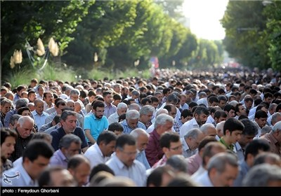 Photos: Muslim Nation of Iran Celebrates Eid al-Fitr