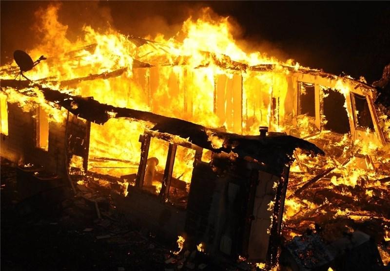 Hundreds Flee, Homes Burn, 3 Hurt in Calif. Fire (Photos)