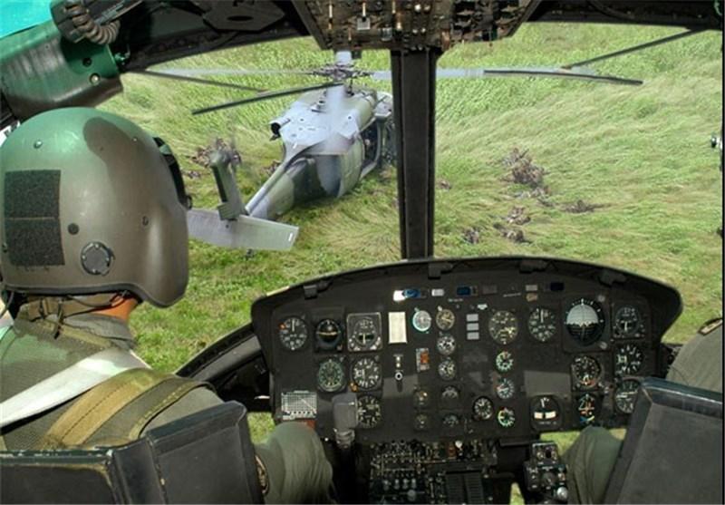 حمله به بالگرد در کلمبیا دو زخمی بر جای گذاشت