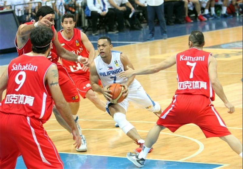 Update: Iran Ranks 1st in FIBA Asia Championship