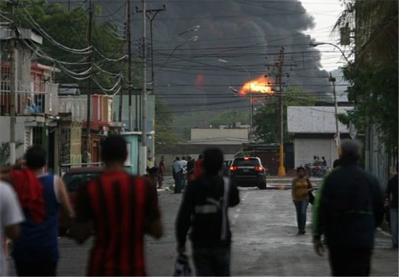 Lightning Sparks Massive Fire at Refinery in Venezuela (+Video)