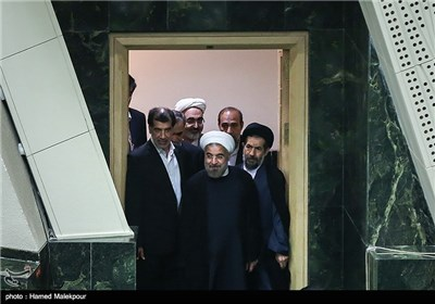 Iran' Parliament Holds Debates on New Candidates