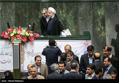Iran' Parliament Holds Debates on New Cabinet