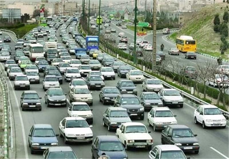 ترافیک سنگین در محور کرج ــ چالوس، هراز محدوده لاریجان و محور قزوین ــ رشت