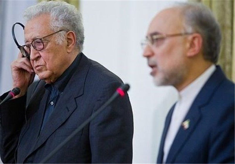 Iran, UN- Arab League Envoy Urge Talks among Syrian Sides