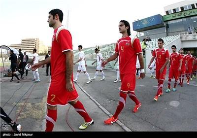 دیدار تیم های ملی فوتبال سوریه و اردن