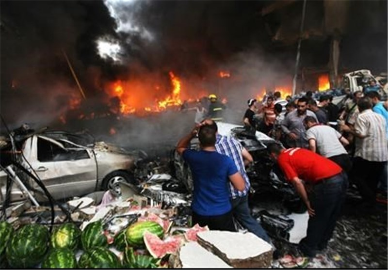 Bomb Rips through Southern Beirut