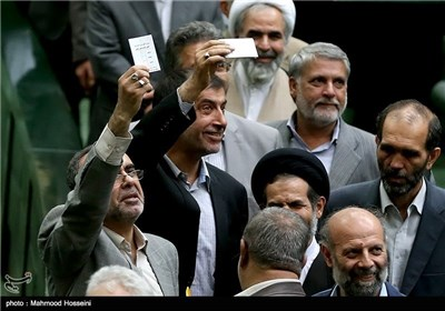Photos: Iran's Parliament Approves Majority of Rouhani's Cabinet Nominees