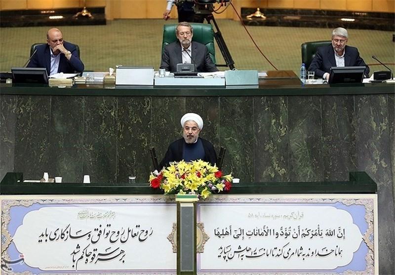 تقدیم لایحه بودجه سال 99 توسط «روحانی» به مجلس در دستورکار نمایندگان