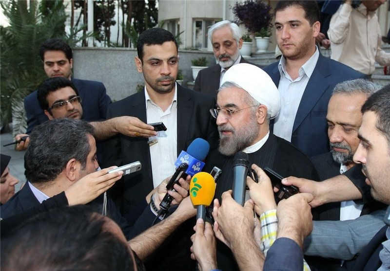 Iran's President Regrets Diversion from Cause of Palestine Liberation
