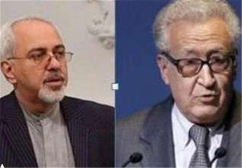 Iranian FM, UN Envoy Confer on Syrian Crisis
