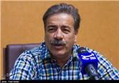 حضور منصور ابراهیم زاده سرمربی تیم فوتبال راه آهن سورینت در خبرگزاری تسنیم