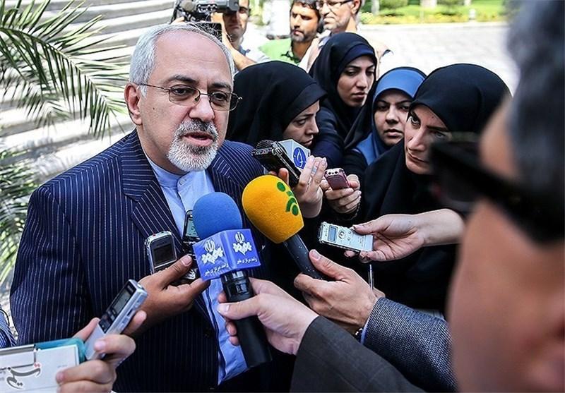 محمد جواد ظریف خبرنگاران