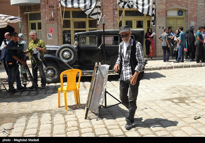 سیدضیاءالدین دری کارگردان سریال کلاه پهلوی