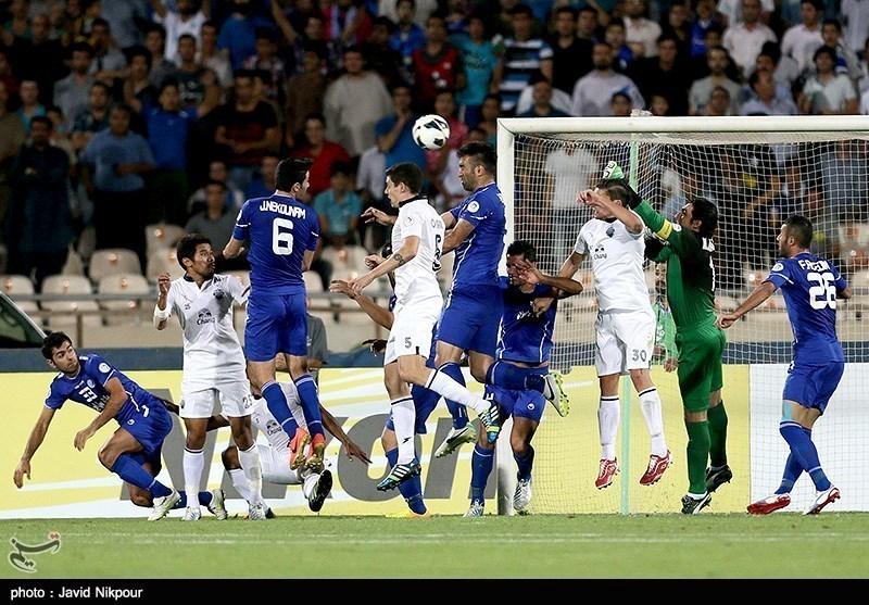 Photos: Iran's Esteqlal Rout Thailand's Buriram United