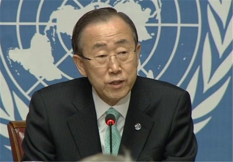 Ban Ki-moon Appeals for Syria Diplomatic Solution