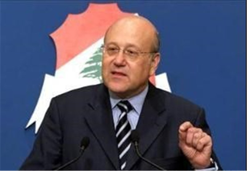 Mikati: Lebanon Problems 'Intertwined with Syria'