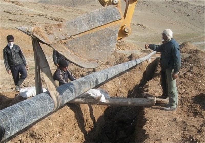 کلنگ عملیات گازرسانی به 10 روستای طبس به زمین می خورد