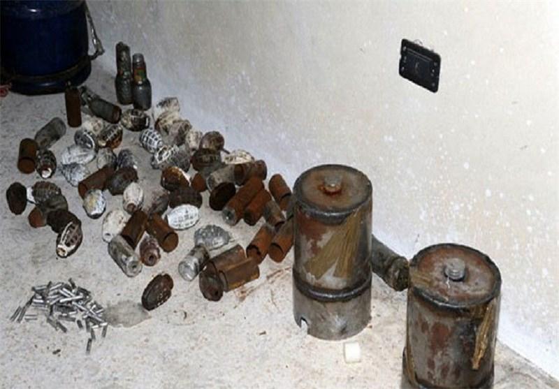 کشف و ضبط یک خودروی حامل سلاح و مهمات در لبنان