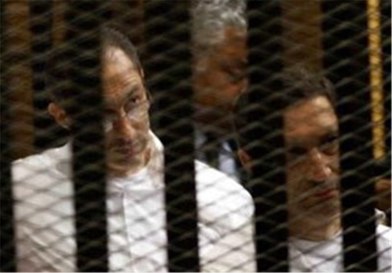 دادگاه مصر رأی به استمرار حبس علاء و جمال مبارک داد