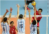 حریف تیم والیبال جوانان ایران مغلوب ایتالیا شد