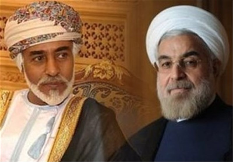 President Rouhani Officially Receives Oman's Sultan Qaboos