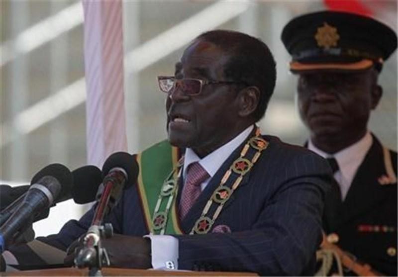 حضور موگابه در انظار عمومی شایعه مرگ وی را نقش برآب کرد