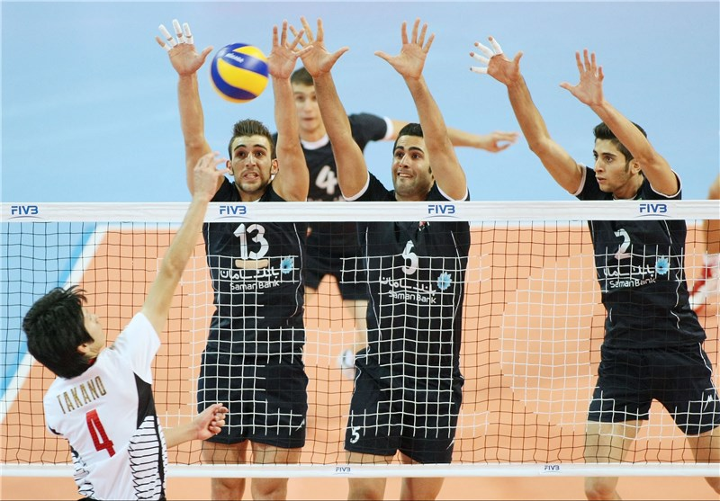 Young Iranian Volleyballers Beat Last Year Champion Japan